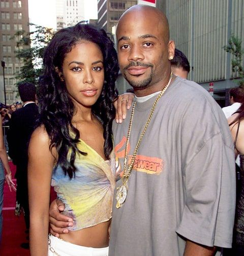 Aaliyah and Damon Dash arrive for the world premiere of the 20th Century Fox film 'Planet of the Apes' in 2001. Frank Micelotta/Getty Images