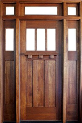 Customers Love Our Tuscany Style Three Lite Entry Door