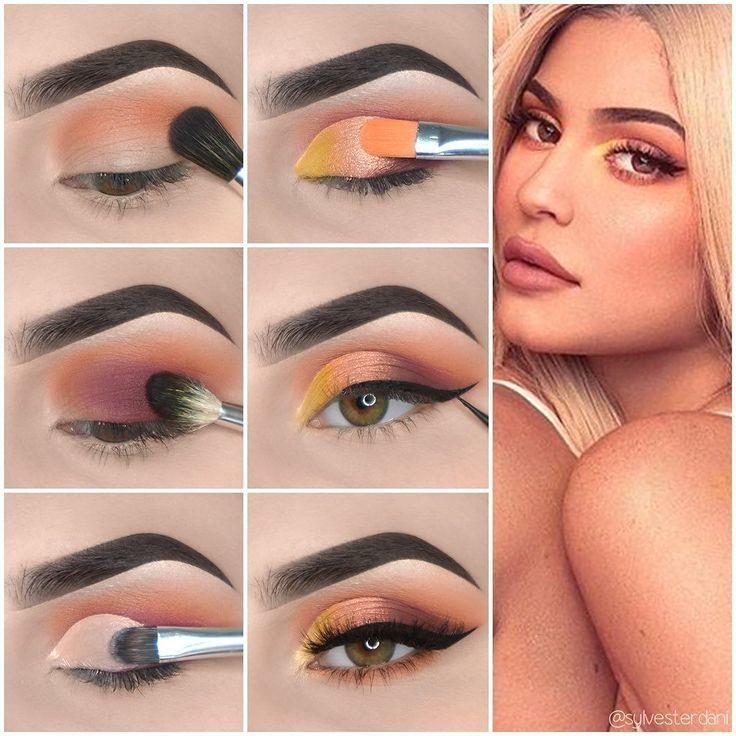 Voici Kylie Jenner style Eye maquillage tutoriel! # ...