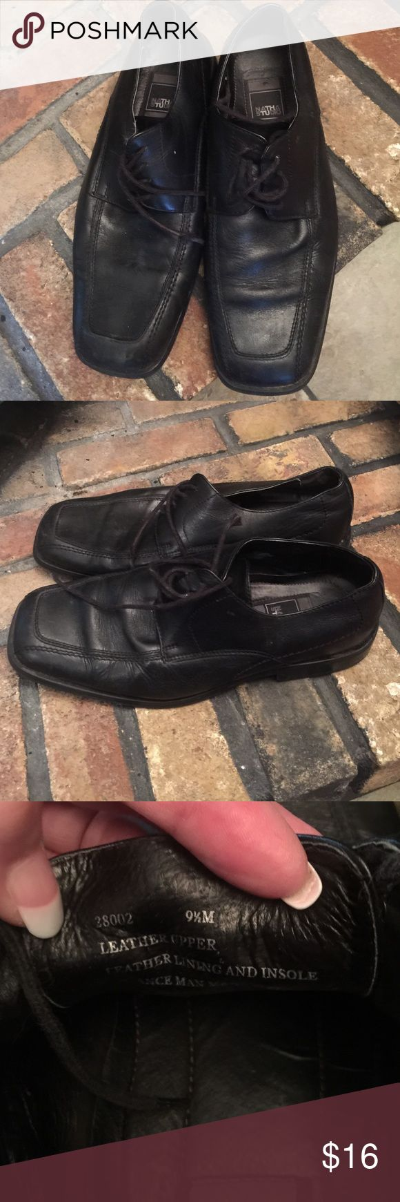 👞 Natha Studio Men's Leather Shoes Nice pair of men's lace up shoes. Could use a new set of shoestrings but other wise in great condition. 🚭 home. Natha Studio Shoes Oxfords & Derbys