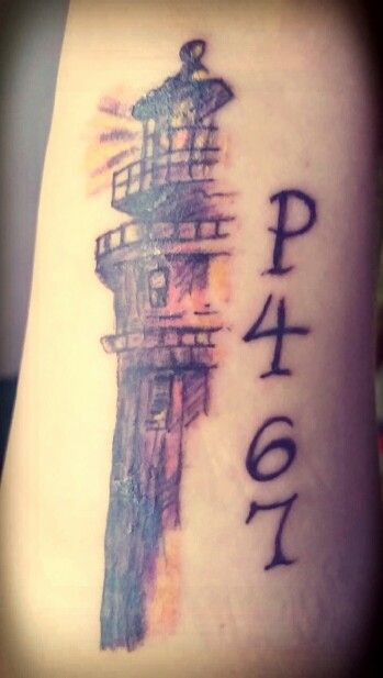 "My Lighthouse tattoo :) Philippians 4: 6-7 ""Be anxious for nothing, but in everything, with prayer and thanksgiving present your requests to God. And the peace of God which surpasses (transcends) all understanding will guard your hearts and minds in Christ Jesus"