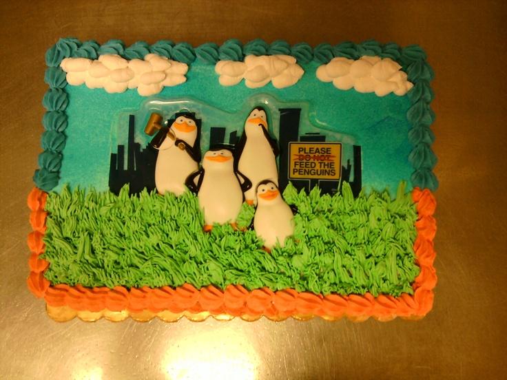 Penguins Of Madagascar Cake Decorating Kit 1 : penguins of Madagascar cake cakes by me! Pinterest Madagascar cake, Cake and Penguin cakes