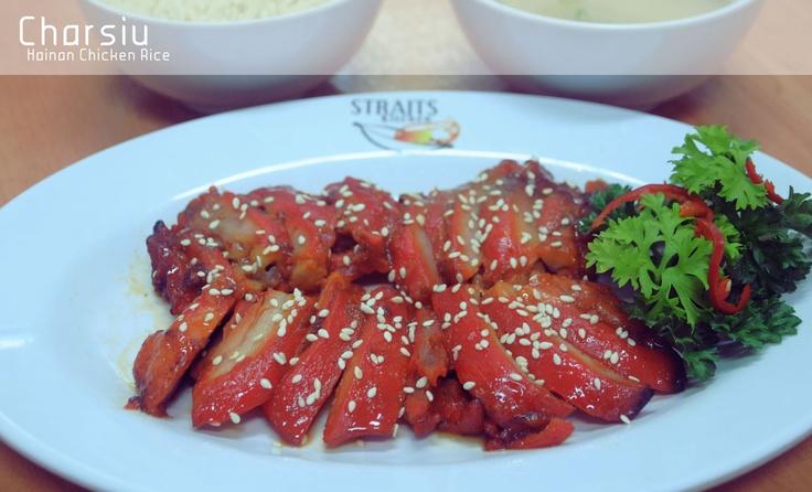 at Hainan Chicken Rice, Straits Kitchen Food Concept