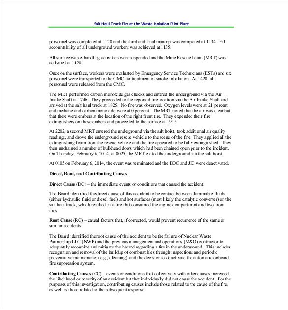 Workplace Incident Report Form Template Free Lovely 4 Accident