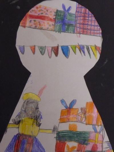 Bekijk de foto van Noemivb met als titel knutselen 2e leerjaar thema 5 (?) TvT en andere inspirerende plaatjes op Welke.nl.