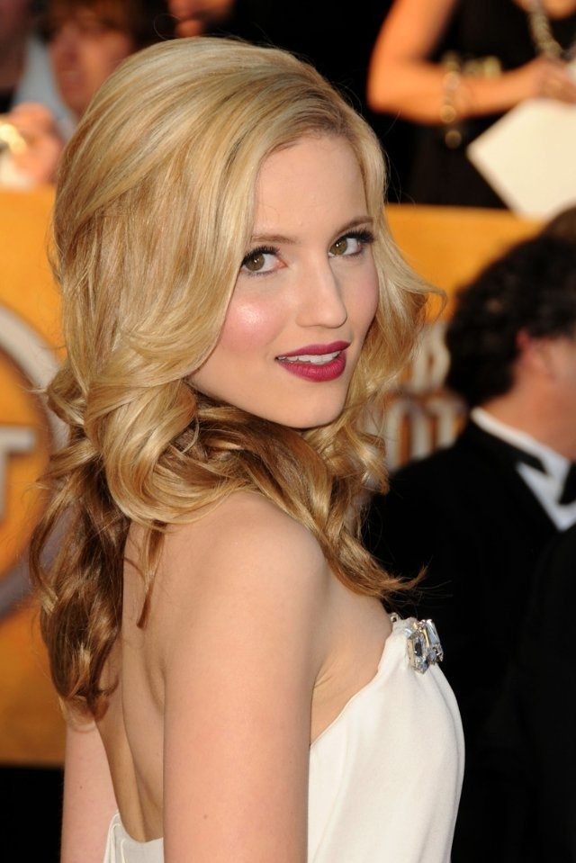 dianna agron hair hartruse - photo #23
