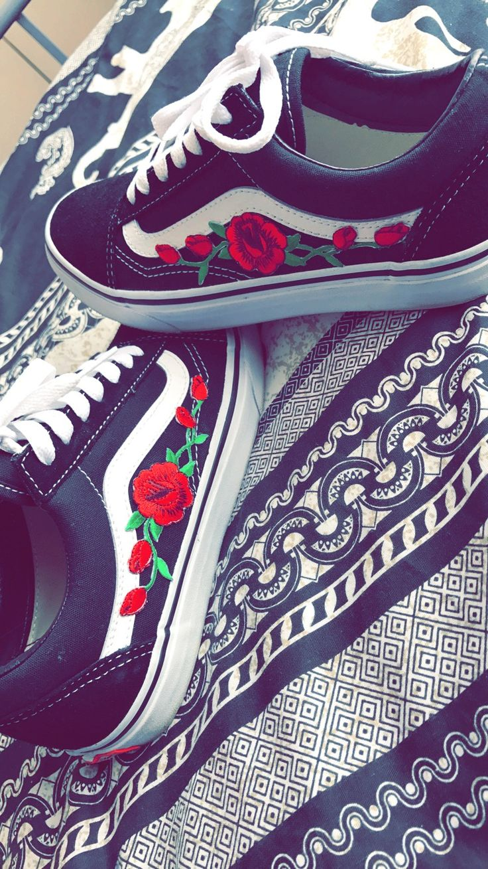 Top best vans rose ideas on pinterest