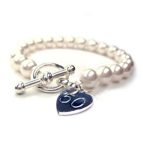 50th Birthday Forever Bracelet