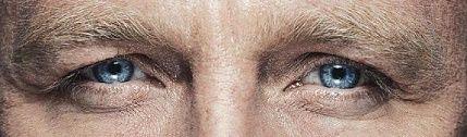 Sexy eyes of Daniel Craig ❤ ^_^ ❤