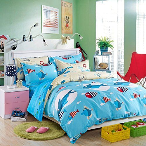 60 best Fish Bedroom images on Pinterest | Comforter ...