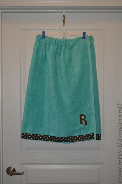 A Mrs. in the Making: Spa Towel Wrap Tutorial and Tips