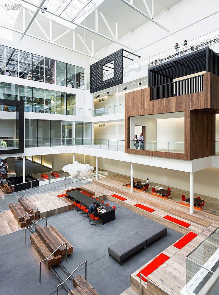 Gensler Office Space Design 888 Brannan. Location: San Francisco, CA.