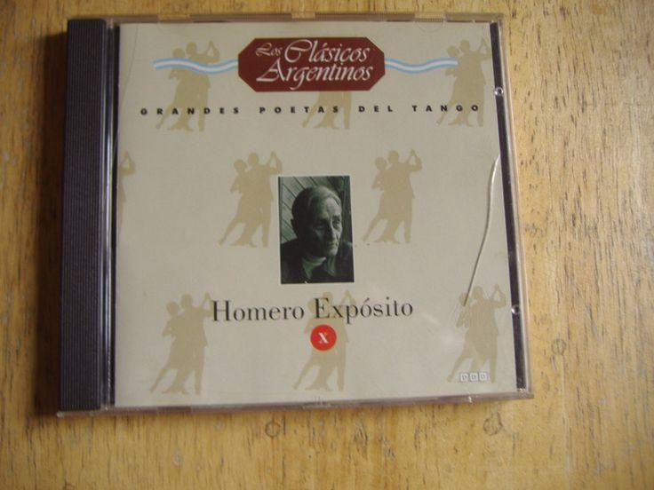 Grandes Poetas Del Tango Volumen 10 - Homero Exposito