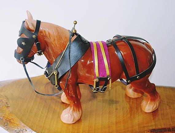 Large Draft Horse Chestnut Work Horse Large Horse Figurine