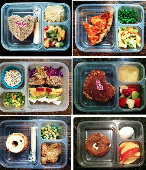 Hey Mom's! Check out these healthy school lunches. #food #kids