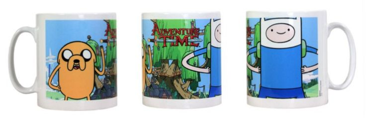 Adventure Time - Fin and Jake mug <3