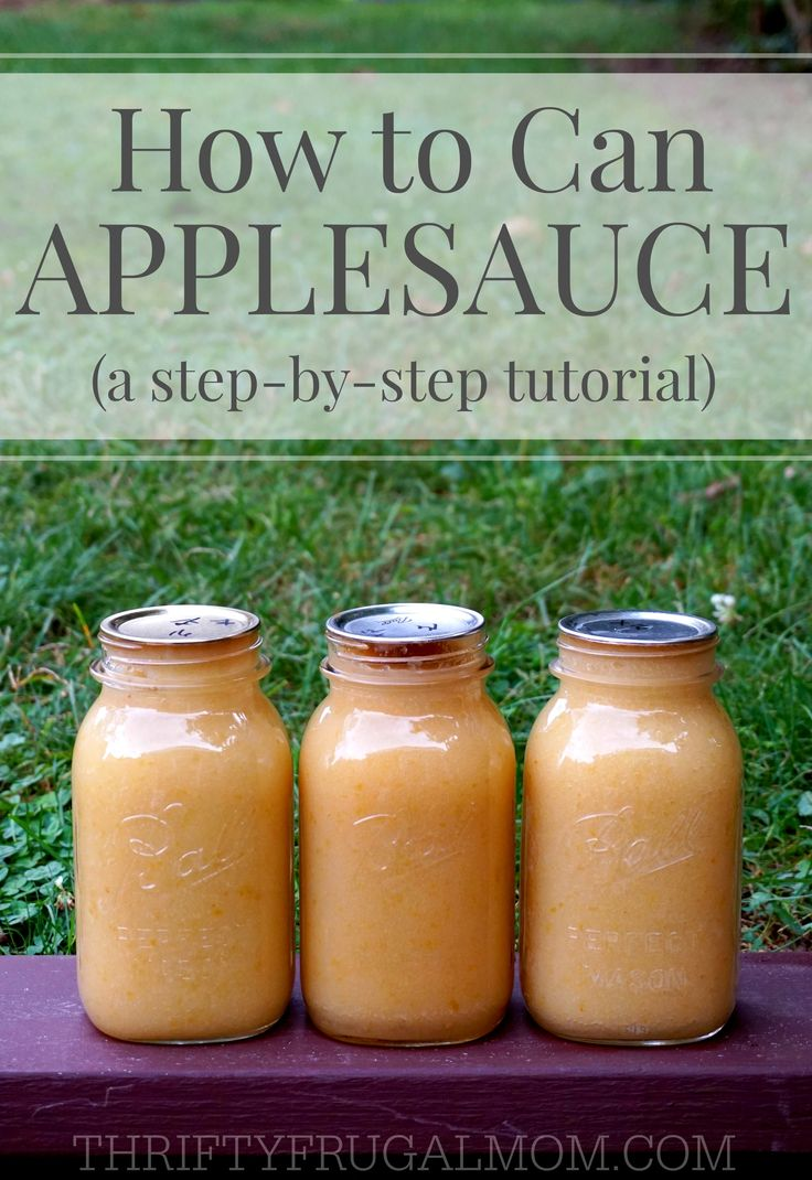 This easy step-by-step photo tutorial will having you making and canning your own applesauce in no time! Who knew it could be so easy?