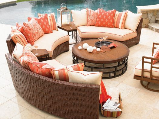 best 25 round patio table ideas on pinterest outdoor deck decorating round outdoor table and. Black Bedroom Furniture Sets. Home Design Ideas