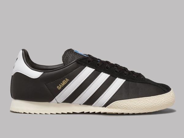 adidas Samba SPZL (Core Black / White / Gold Metallic)