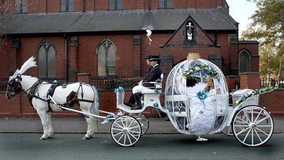Fairytale Wedding Car ♥ Dream Wedding Ideas
