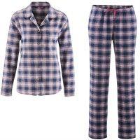 Pijama mujer de franela algodón orgánico Living Crafts