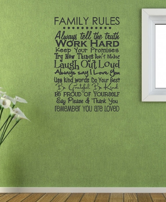 This is a decal you can purchase to put on your wall, mostly I just love what it says.