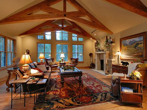 16 best images about traditional rustic homes on pinterest Mountain home interiors