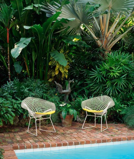 Garden furniture for your mid-century home   Grass-trees & Butterfly Chairs