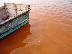 Озеро Ретба. Сенегал