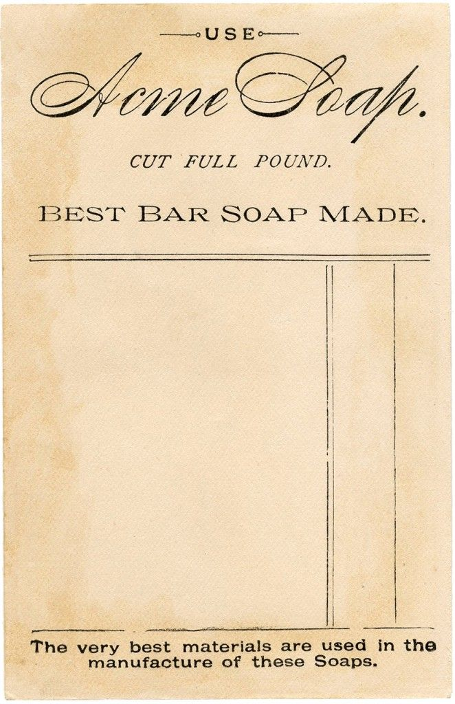 Vintage Soap Ephemera Image! (via Bloglovin.com )