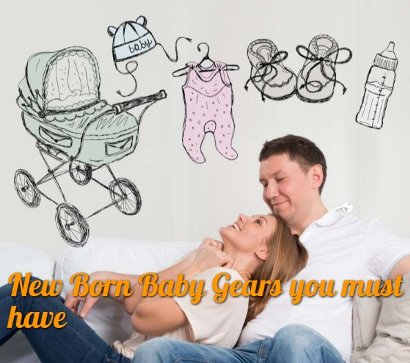 5 Things you must have for your #NewBornBaby Make yourself good at #Parenting