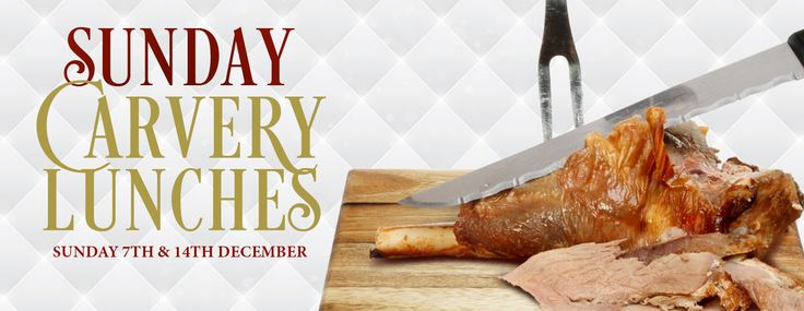 Sunday Carvery Lunches at Salomons Estate, Sunday 7th & 14th December 2014.