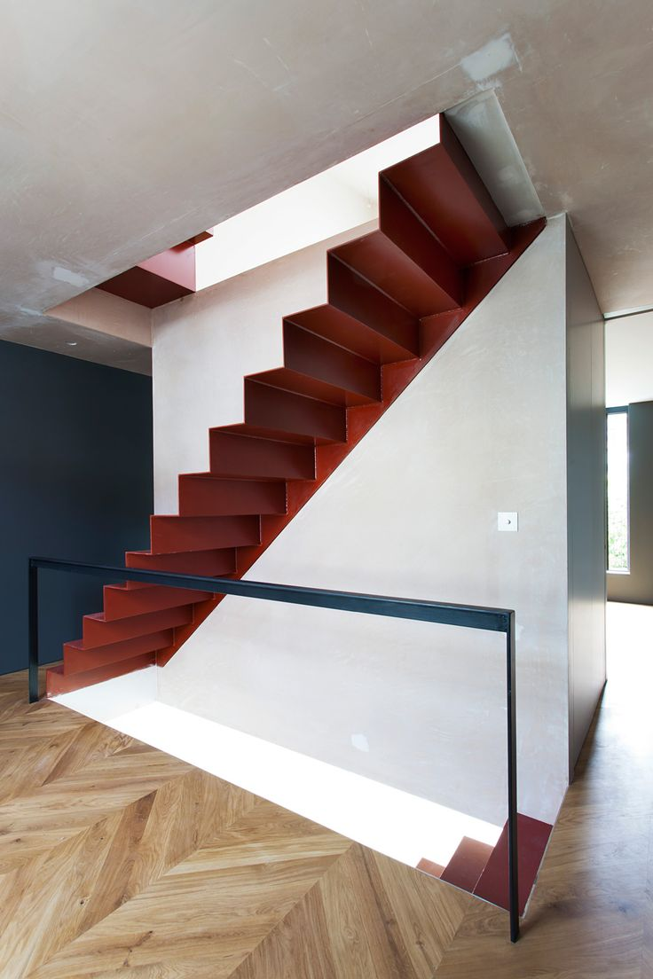 Shortlisted in Residential: Uxbridge Street by VW+BS (UK); Photo: Michael Franke (https://www.pinterest.com/AnkAdesign/a-stairway-to-heaven/)