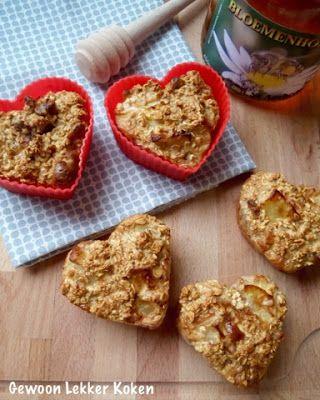 Gewoon Lekker Koken & Leven: Havermoutmuffins uit de airfryer