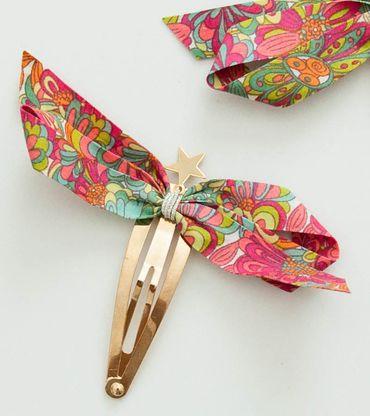 Bene Liberty Print Pin with Stars, Pink - shopminikin