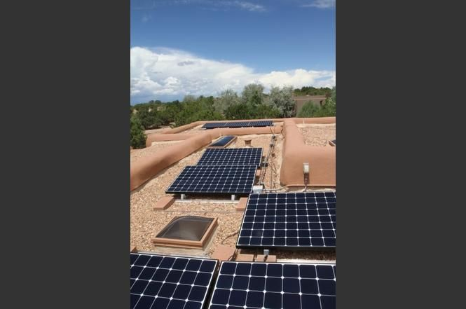 8 Summer Night, Santa Fe, NM 87506 - Photo 48 of 48 - SOLAR PANELS ON ROOF