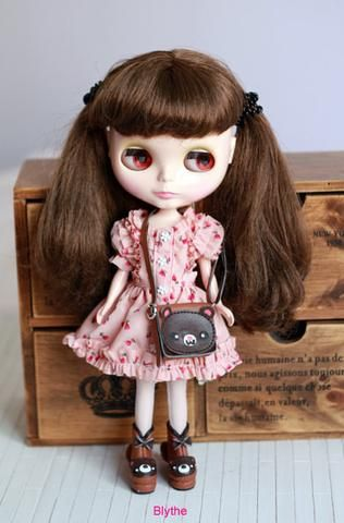Animal Handbag and Boots For  Blythe , azone, Momoko, Lati, Licca , jerryberry | Doll Bag | Doll Accessories - 203040anyage - 1