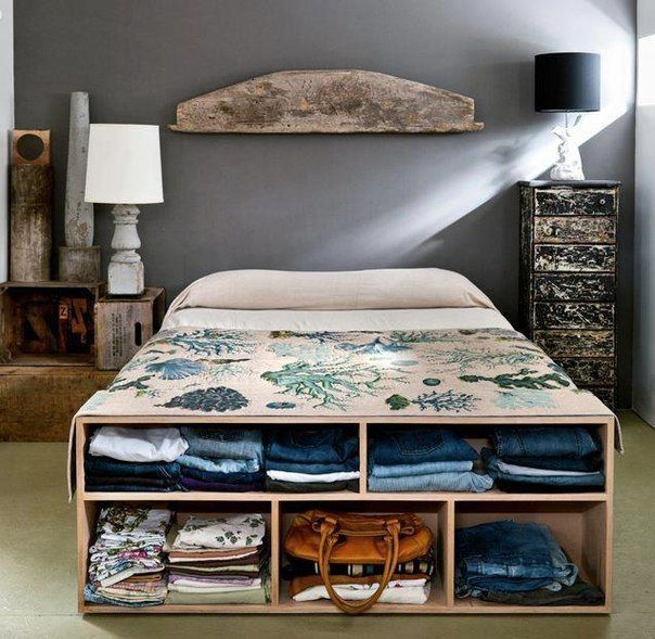 Creative storage ideas for small space bedroom - Storage ideas for small spaces bedroom ...