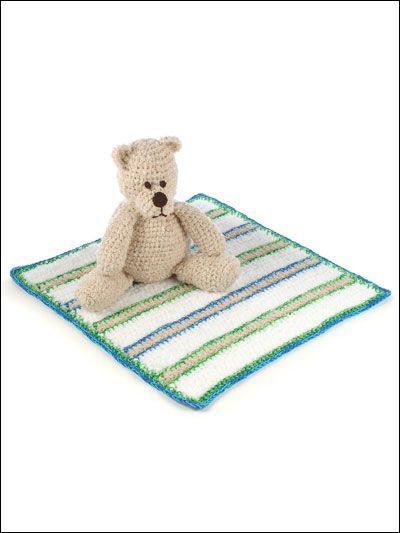crochet Bear & BlanketCrochet Blankets, Afghan Crochet, Crochet Bears, Bears Blankets, Crochet Gift, Crochet Baby Blankets, Bears Amp, Crochet Pattern, Blankets Pattern