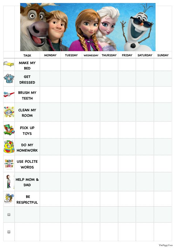 frozen behavior chart | Related Pictures reward charts kids playroom traditional childrens ...