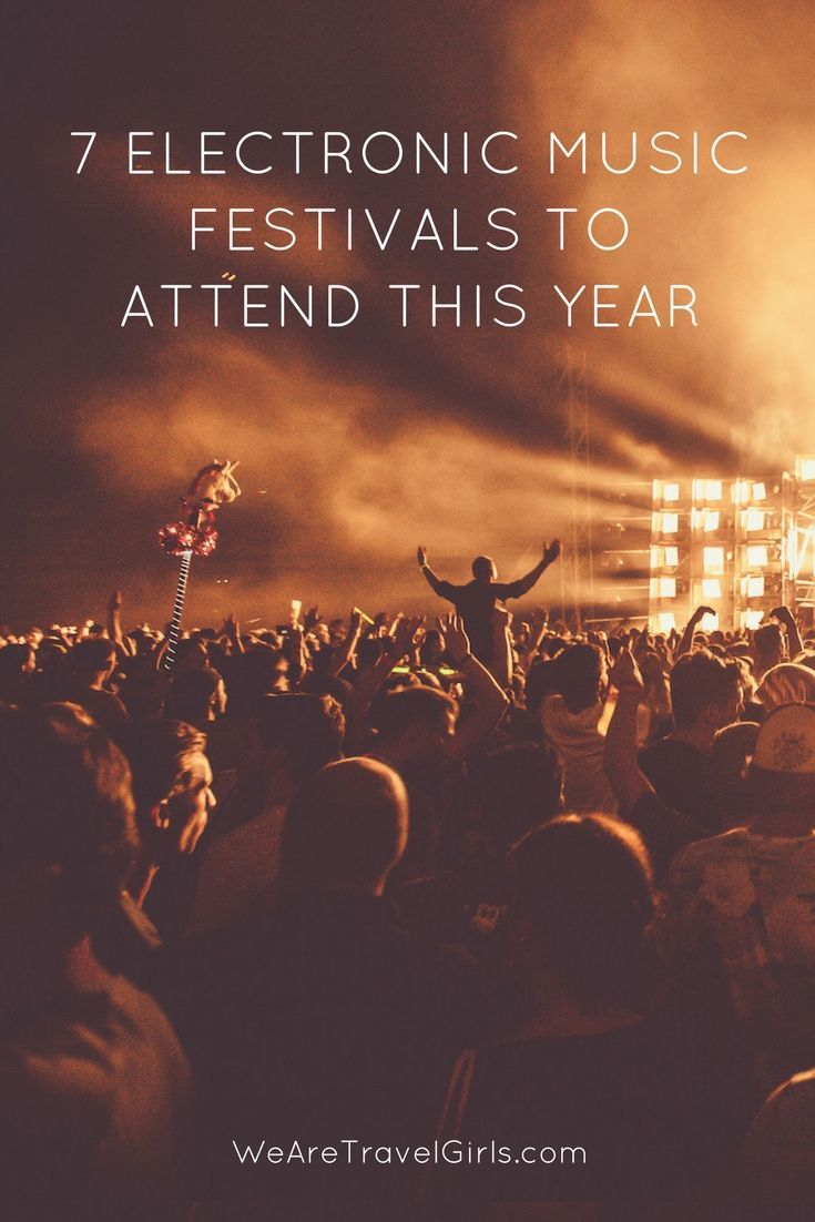 7 AWESOME ELECTRONIC MUSIC FESTIVALS TO ATTEND! Festival season is here, as us festival addicts like to say! Kicking off in the beautiful Miami, Florida here are 7 awesome electronic music festivals to attend this year. By Allison Judkins for WeAreTravelGirls.com