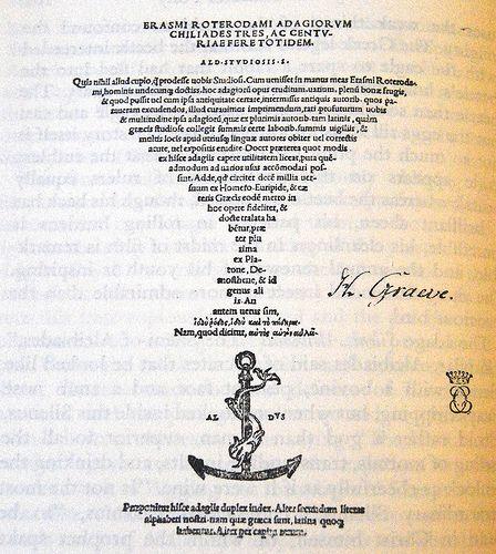 Aldus Manutius (1449 - 1515)