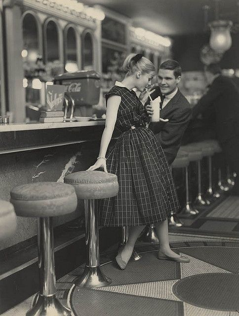 1950 s diner fashion tumblr | fashion vintage 1950s 50s 1950s fashion theniftyfifties •