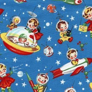 17 best ideas about retro rocket on pinterest retro for Space mountain fabric