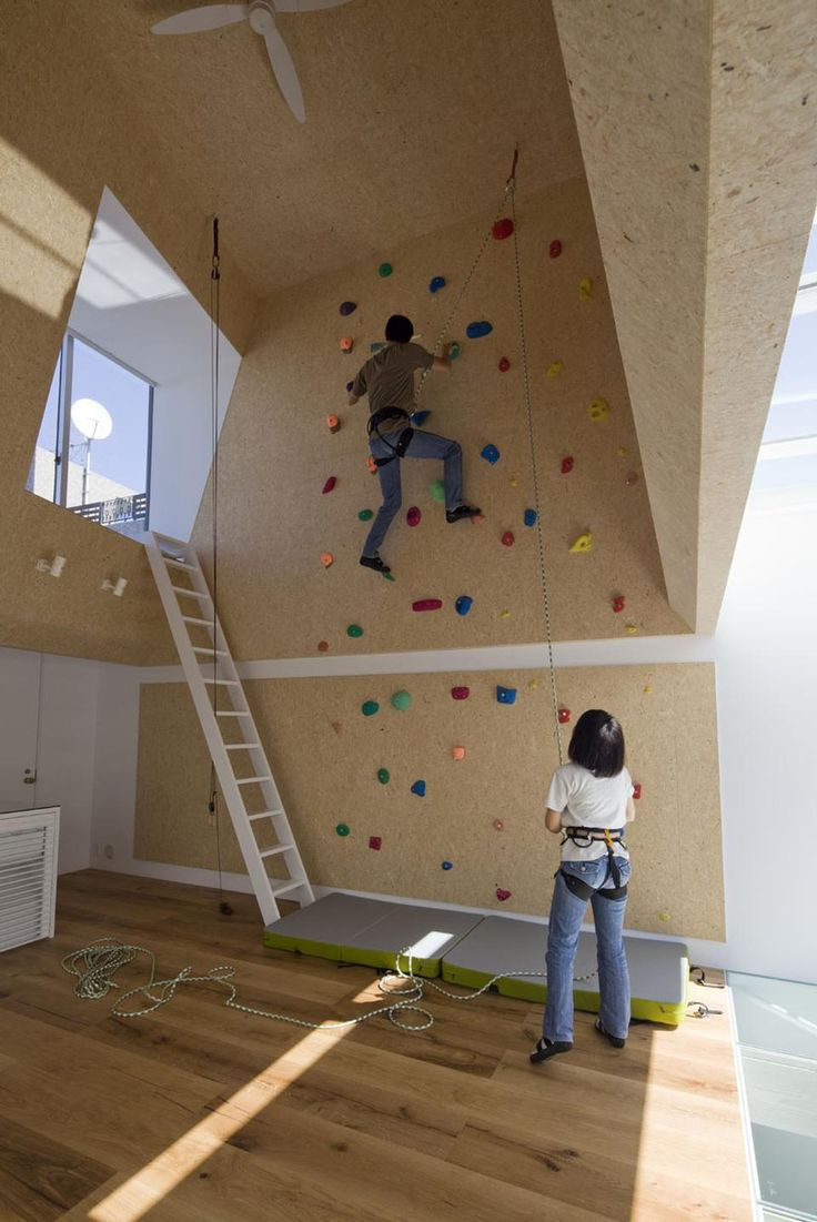 A small house for a young couple who domesticated their love of hiking and climbing