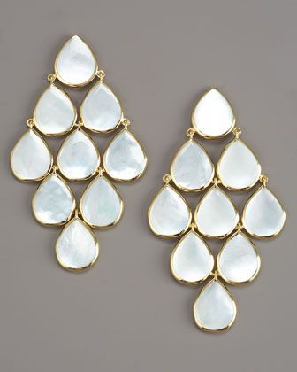 Ippolita Cascade Mother-of-Pearl Earrings - Neiman Marcus