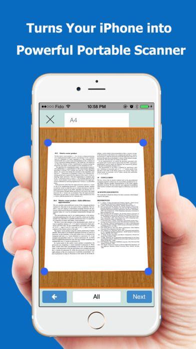 SAVE $1.99: TopScanner : PDF Scanner App gone Free in the Apple App Store. #iOS #iPhone #iPad  #Mac #Apple