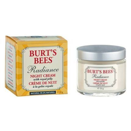 Burts Bees Radiance Night Cream With Royal Jelly - Amcal Chempro Online Chemist