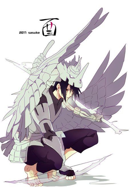Sasuke's susanoo as body armour