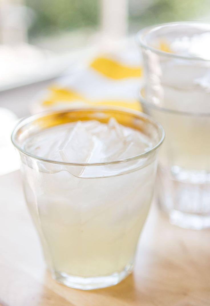 Try this refreshing fresh lemonade recipe with the zing of fresh ginger.